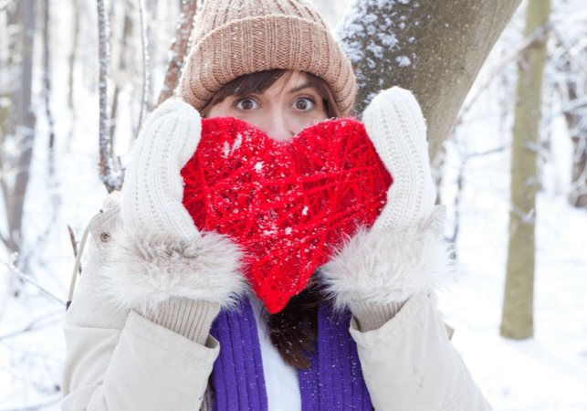 Gifts for Valentines Day can be tough - how to wrap all your love and emotion into one gift on one day of the year? Maybe it's not a gift... www.themidlifemamas.com