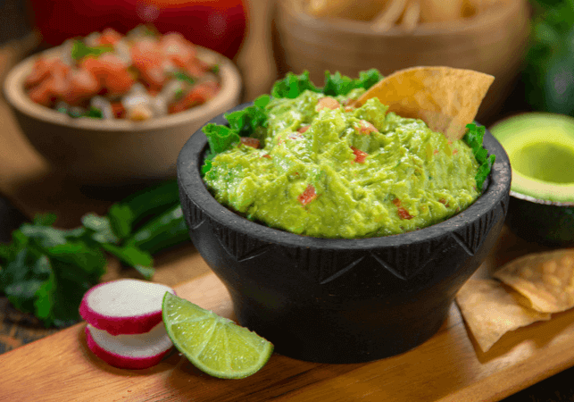Crazy - but this really was the best ever easy guacamole recipe! www.themidlifemamas.com