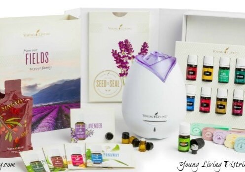 Young Living's Brand New Premium Starter Kit is truly premium!! The brand new Essential Oil Premium Starter Kit includes your choice of diffusers, 10 of the most popular everyday essential oils, one bonus oil, and LOT of samples and materials for trying, learning, and sharing! www.themidlifemamas.com #youngliving #essentialoils